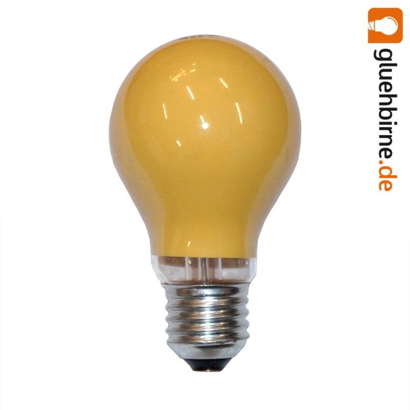 1 x gl hbirne 25w e27 orange gl hlampe 25 watt gl hbir. Black Bedroom Furniture Sets. Home Design Ideas