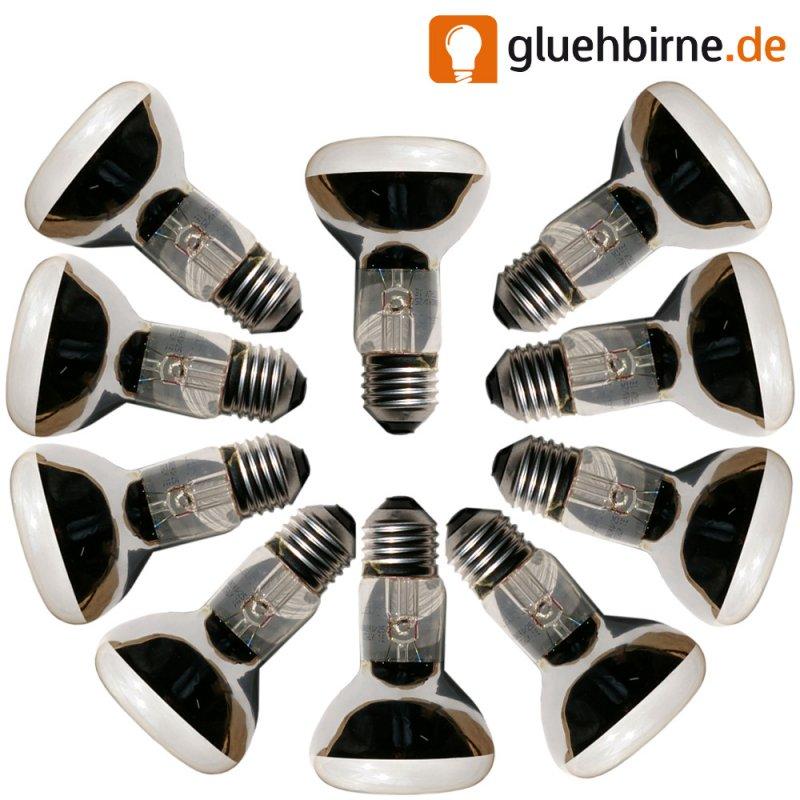 10 x reflektor gl hbirne r63 60w matt gl hlampe. Black Bedroom Furniture Sets. Home Design Ideas