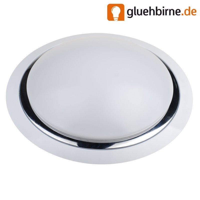 led deckenleuchte 15w mit sensor 1200lm warmwei 3000k ip20 38. Black Bedroom Furniture Sets. Home Design Ideas