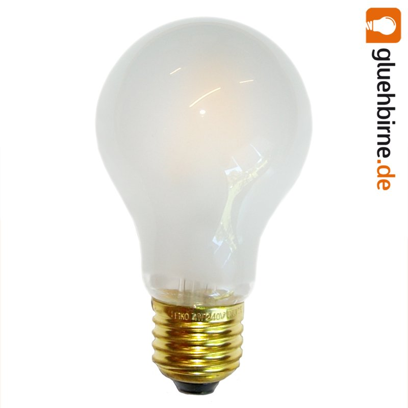 led filament 4w 40w e27 matt gl hlampe gl hbirne gl. Black Bedroom Furniture Sets. Home Design Ideas