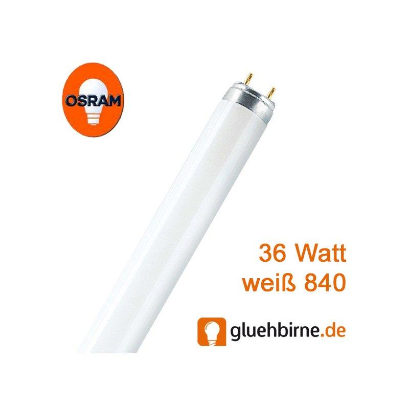 osram leuchtstofflampe lumilux t8 36 watt 840 neonr hre 2 49 e. Black Bedroom Furniture Sets. Home Design Ideas