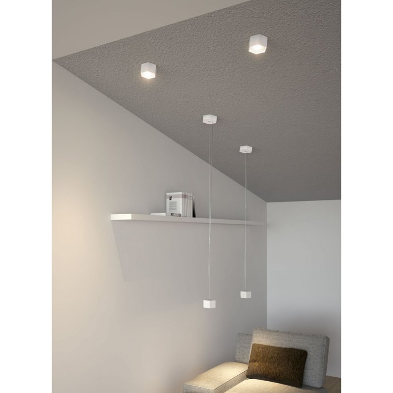 osram led pendellleuchte combilite single pendant 4w wei decke. Black Bedroom Furniture Sets. Home Design Ideas
