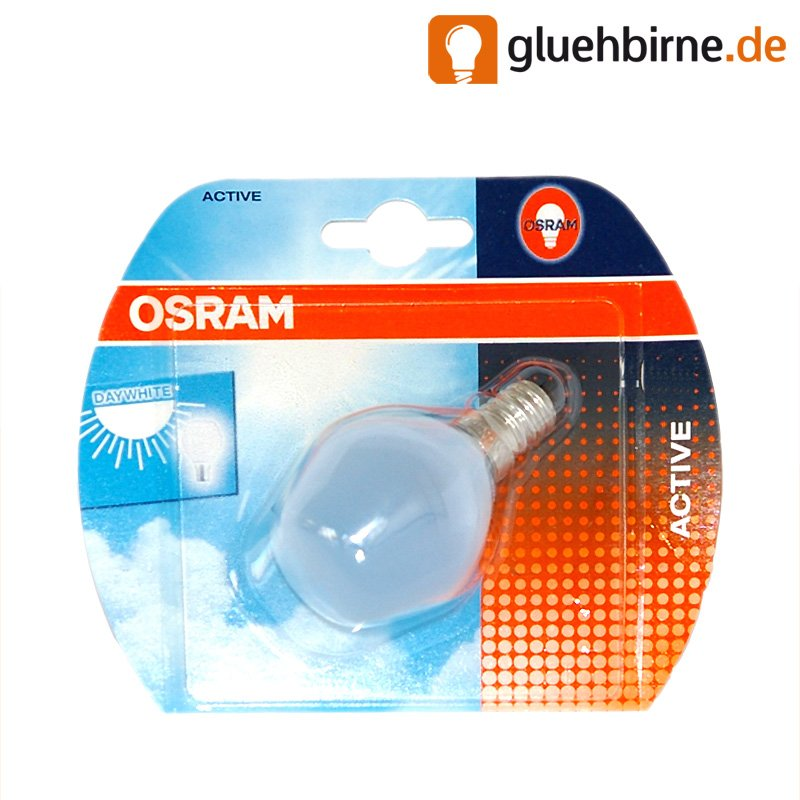 osram tropfen active 60w e14 matt gl hbirne gl hlampe 60 wa. Black Bedroom Furniture Sets. Home Design Ideas