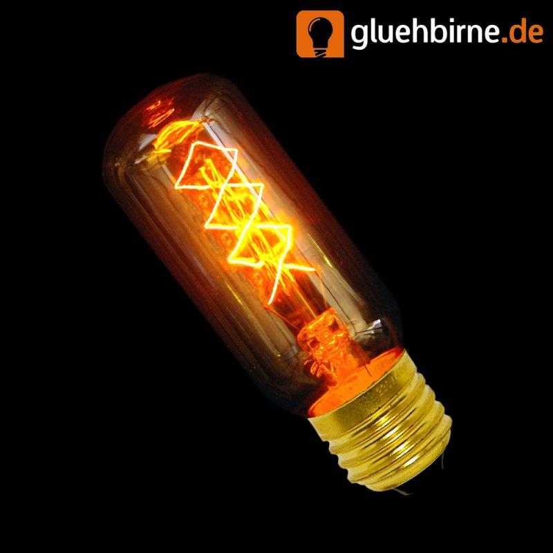 rustika r hre 40w e27 gl hbirne vielfachwendel hnl kohlefadenlampe. Black Bedroom Furniture Sets. Home Design Ideas
