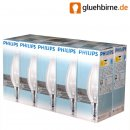 10x Philips Light Bulb Candle 40W E14 clear 40 Watt...