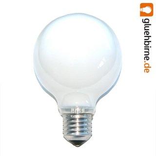1 x globe gl hbirne 25w e27 opal g80 80mm globelampe 25 watt gl. Black Bedroom Furniture Sets. Home Design Ideas