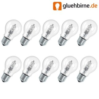 10 x osram halogen eco gl hbirne 30w 40w 230v e27 classic a 64. Black Bedroom Furniture Sets. Home Design Ideas