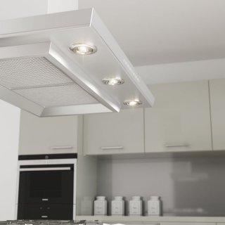 osram einbaustrahler ivios 3 er set chrom led gu10 5 3w 50w glasser. Black Bedroom Furniture Sets. Home Design Ideas