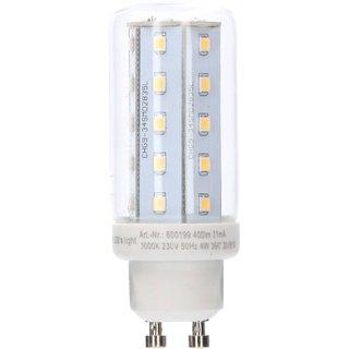 led leuchtmittel r hre 4w gu10 corn 3000k warmwei 80x30 3. Black Bedroom Furniture Sets. Home Design Ideas