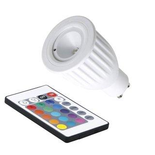 led reflektor par16 farbwechsel rgb fernbedienung gu10 3 5w dimmbar 9. Black Bedroom Furniture Sets. Home Design Ideas