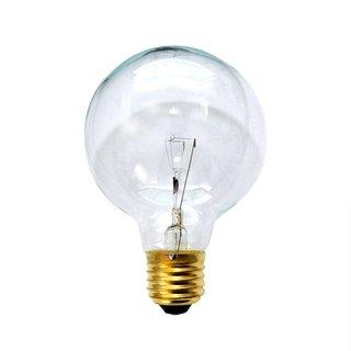 globe gl hbirne 25w e27 klar g80 80mm globelampe 25 watt gl. Black Bedroom Furniture Sets. Home Design Ideas