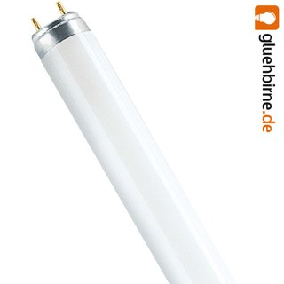Osram Lumilux T8 Leuchtstoffröhre Colored 58W 60 Rot G13