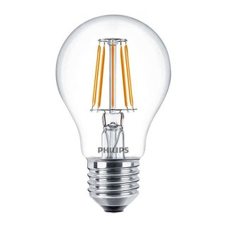 Philips LED Filament Leuchtmittel Birnenform 4,3W = 40W E27 klar 827 warmweiß 2700K