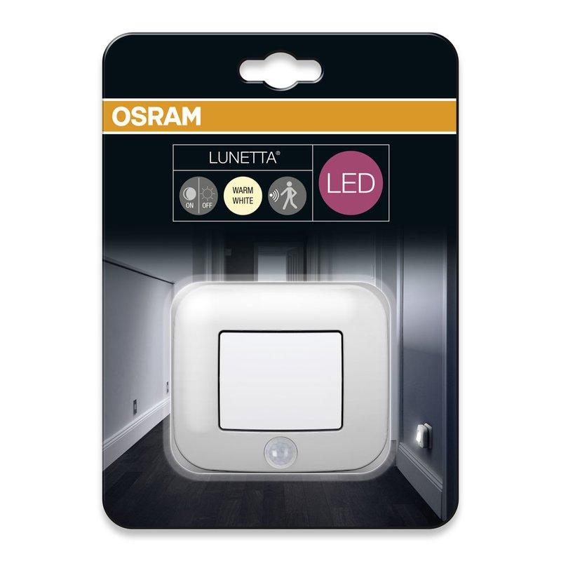 osram led nachtlicht lunetta hall sensor wei steckdosenlicht b. Black Bedroom Furniture Sets. Home Design Ideas