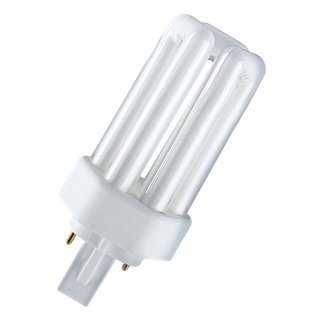 10 x Osram Kompaktleuchtstofflampe Dulux T Plus 26W 840 4000K Lumilux Cool White GX24d-3