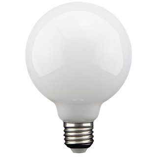 LED Filament Globe G125 8W = 75W E27 Opal 827 warmweiß 2700K 360°