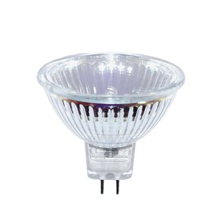 10 x Müller-Licht Halogen Reflektor MR16 50W GU5,3 12V warmweiß 2900K UV-Stop 8000h flood 36° dimmbar