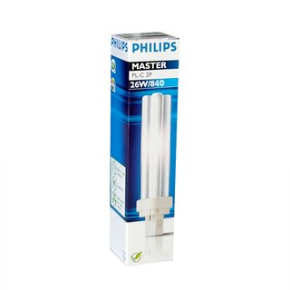 Philips Master PL-C 2P 26W 840 G24d-3 Energiesparlampe Kompaktleuchtstofflampe