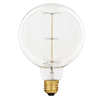 rustika globe gl hbirne 60w g120 e27 vielfachwendel gl hlam. Black Bedroom Furniture Sets. Home Design Ideas