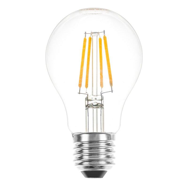 LED Filament Leuchtmittel Birnenform 4W = 40W E27 Glühfaden warm