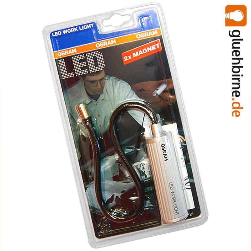 osram led work light arbeitsleuchte mit magnet 8 98. Black Bedroom Furniture Sets. Home Design Ideas