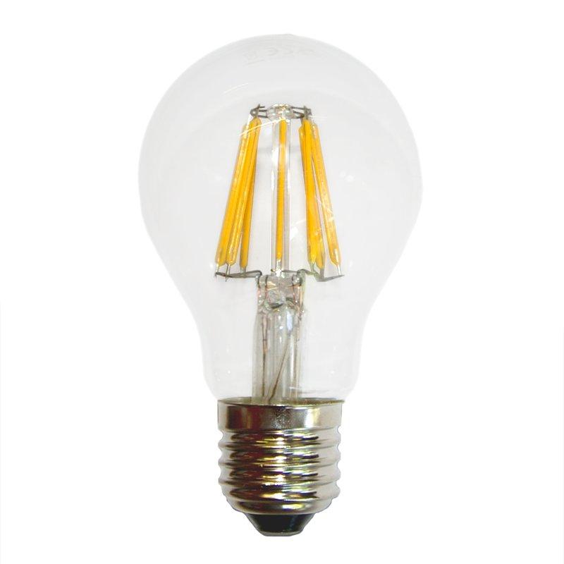LED Filament Glühbirne 6W fast wie 60W E27 Glühlampe 620lm