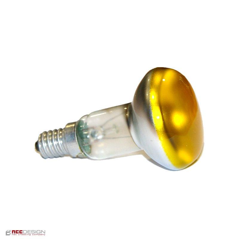 1 x osram reflektor gl hbirne spot color gelb r50 40w 40. Black Bedroom Furniture Sets. Home Design Ideas