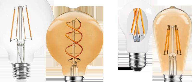 Filament LEDs