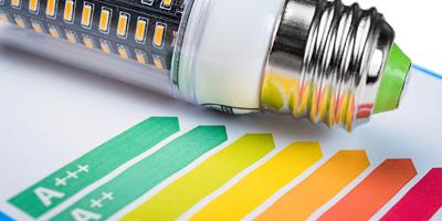 Wirkungsgrad von LED Leuchtmitteln